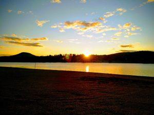 Soluppgång Över Ljusnan