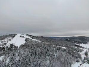 Nysnö i Järvsö