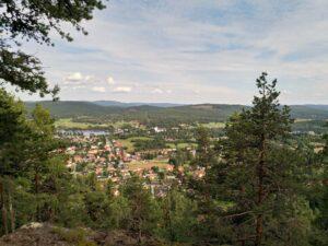 Utsikt över Järvsö